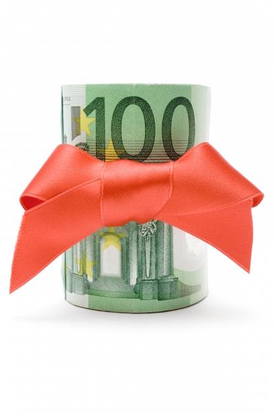 100 euro geldgeschenk