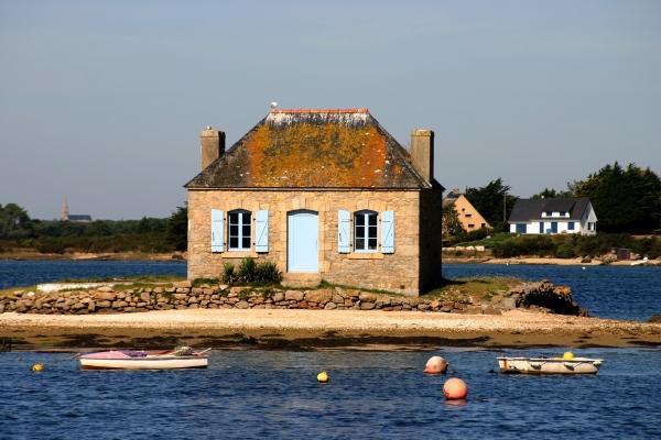 einsames fischerhaus