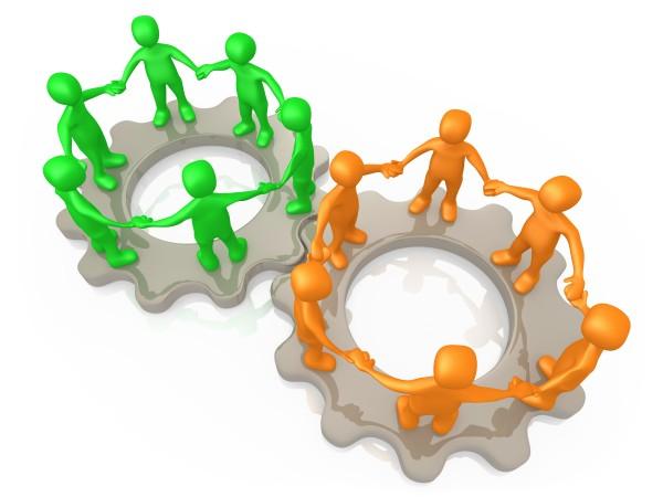 teams kooperieren