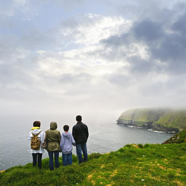 familie die cape st marys oekologisches