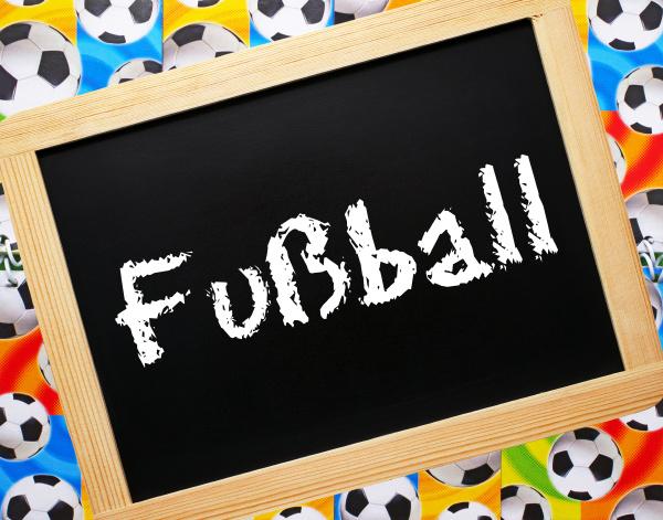 fussball konzept bild