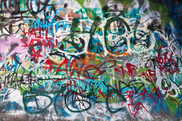 strassen graffiti hintergrund