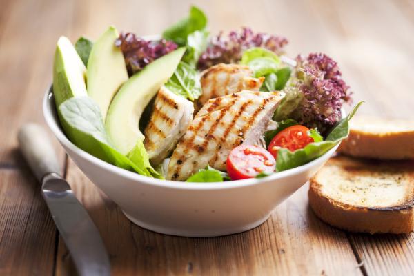 huehnchensalat