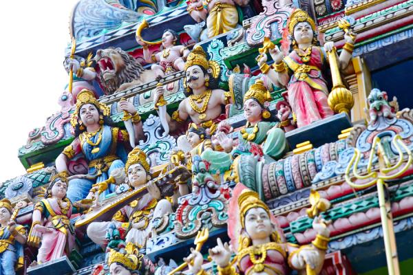 hindu tempel statue