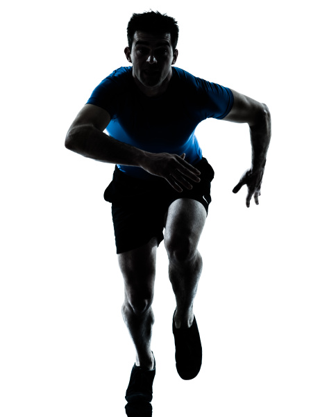 mann laeufer laeuft sprinter sprint