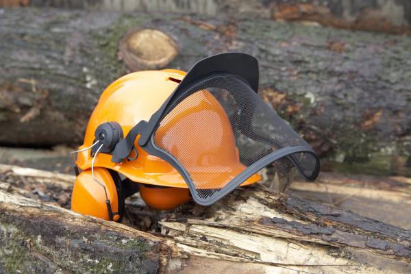 protective helmet outdoor shot