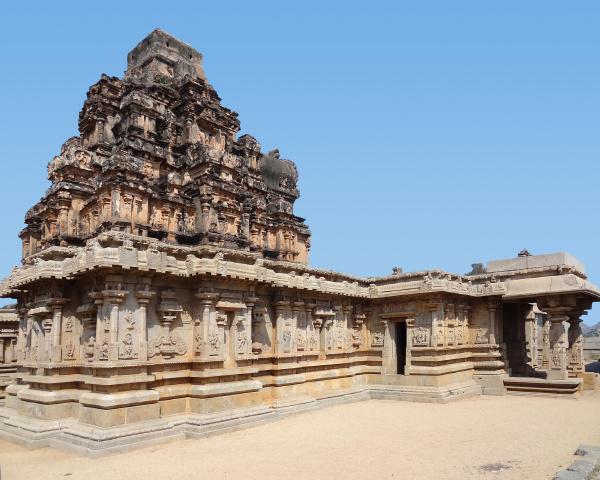 krishna temple at vijayanagara
