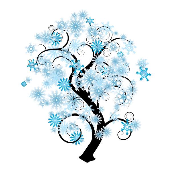 schneeflockenbaum
