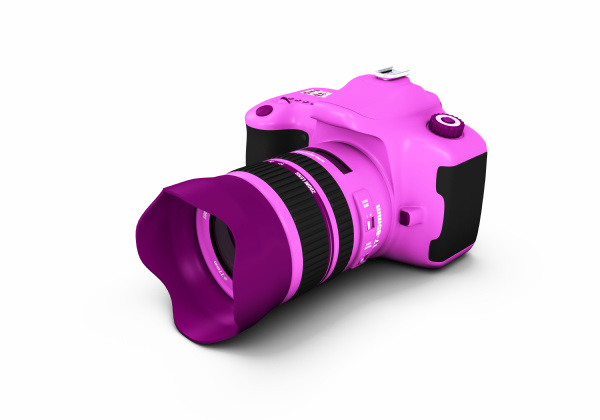 pink lady dslr spiegelreflexkamera