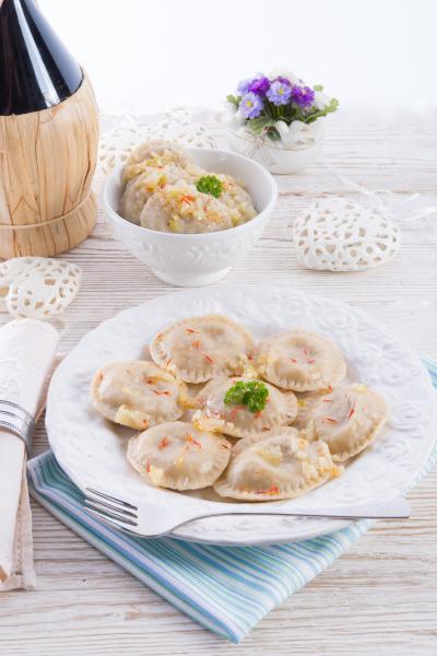 pierogi with meat