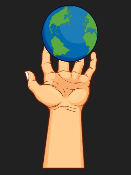 leistung globus planet erde terra welt