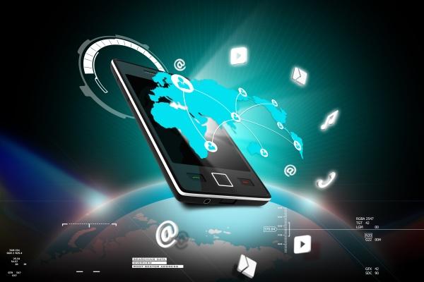 social networking in der digitalen tablette