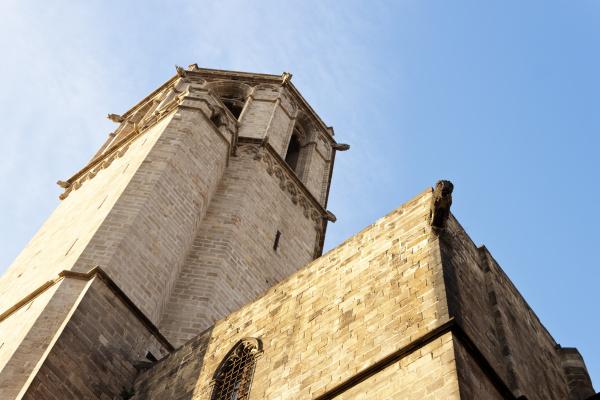 barcelona kathedrale turm