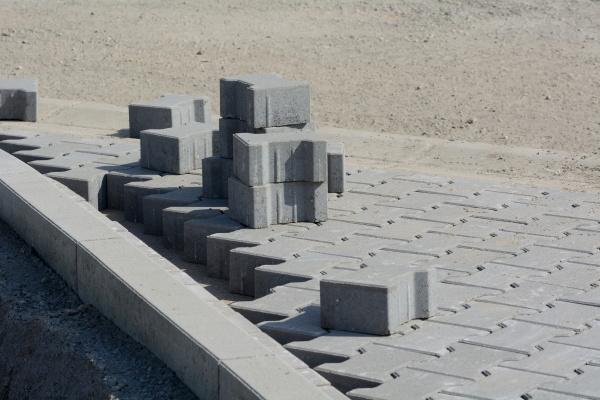 verlegen von betonsteinpflaster