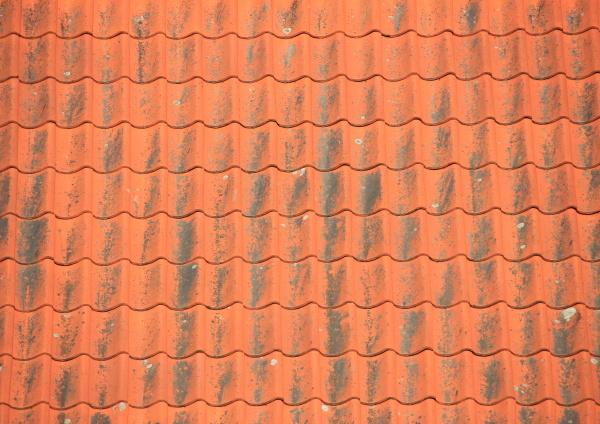 patina dachziegel kruemmen kachel fliese schweifen