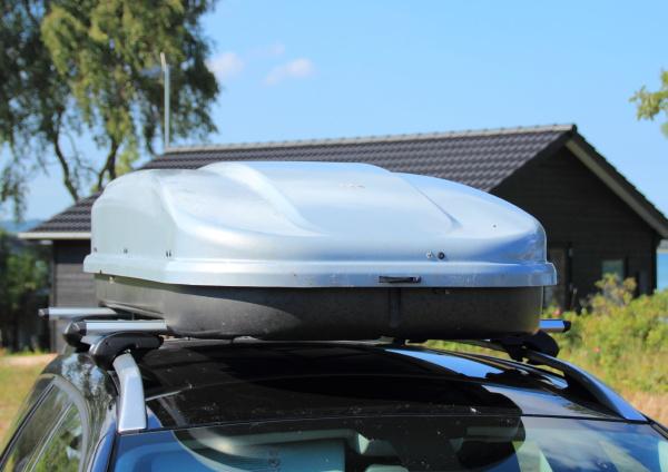 frontend der dachbox auf auto