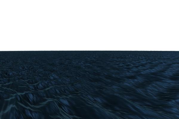 blau rauh wellen illustration digital finster