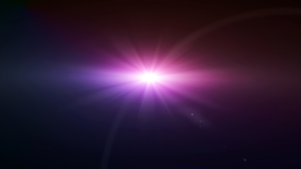 space star flare magenta color lens