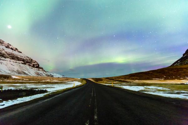 northern light aurora borealis island