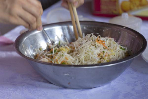 lebensmittel auf dem asiatischen markt