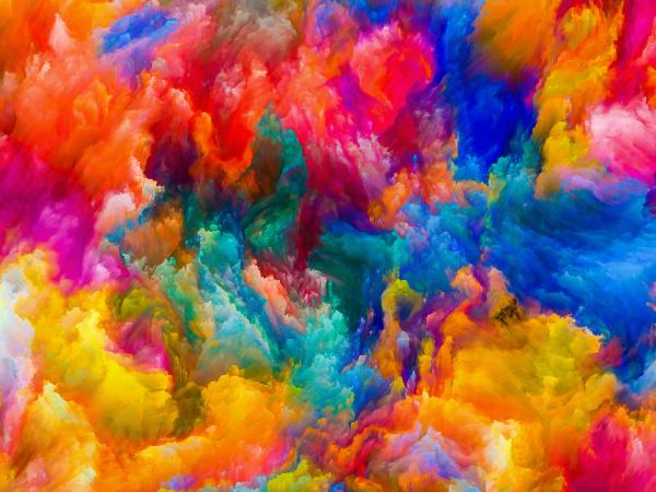 innenleben von farben