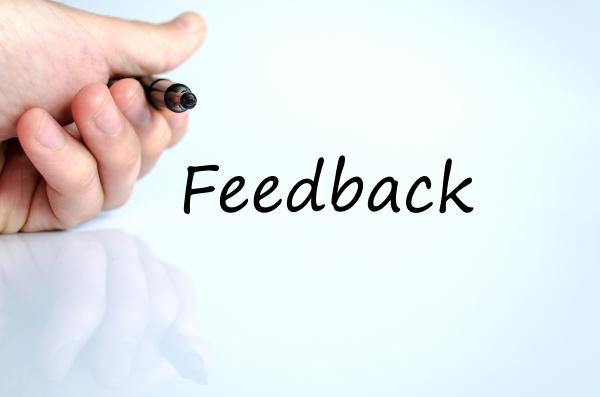 feedback textkonzept