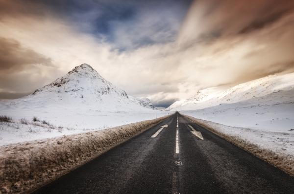 fahrt reisen freisteller farbe berge winter