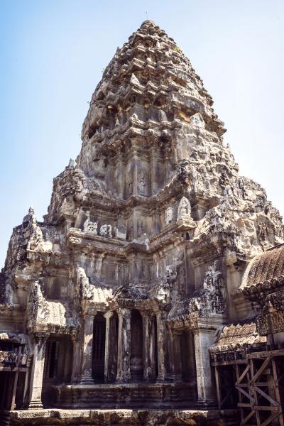 kambodscha siem reap tempel in angkor