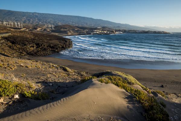 fahrt reisen wolke strand spanien outdoor