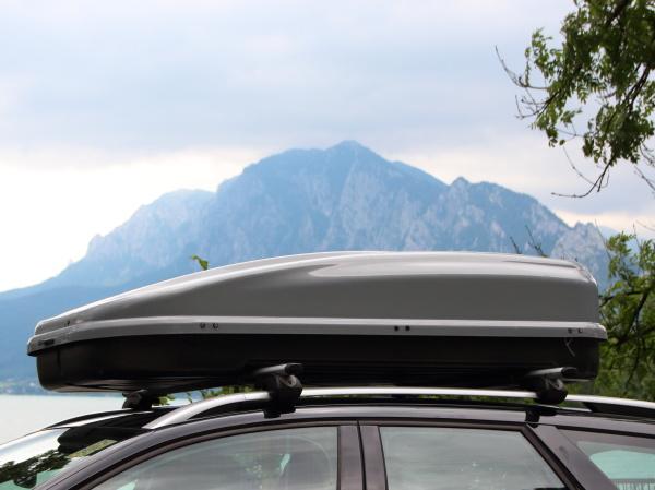 car, rooftop, box, mit, berg, und - 18120256