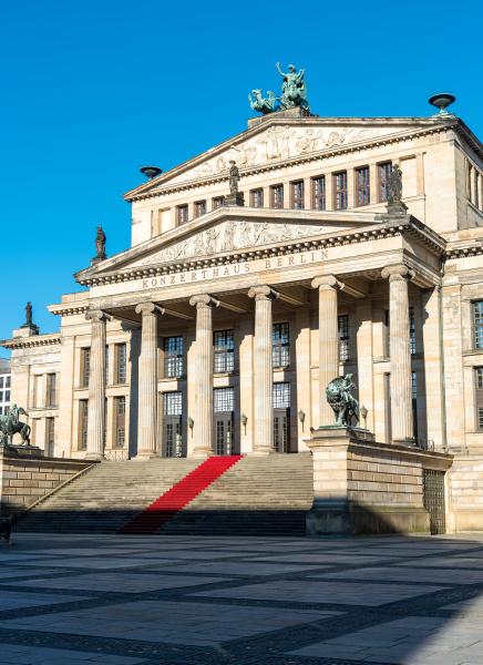 das konzerthaus am gendarmenmarkt in berlin