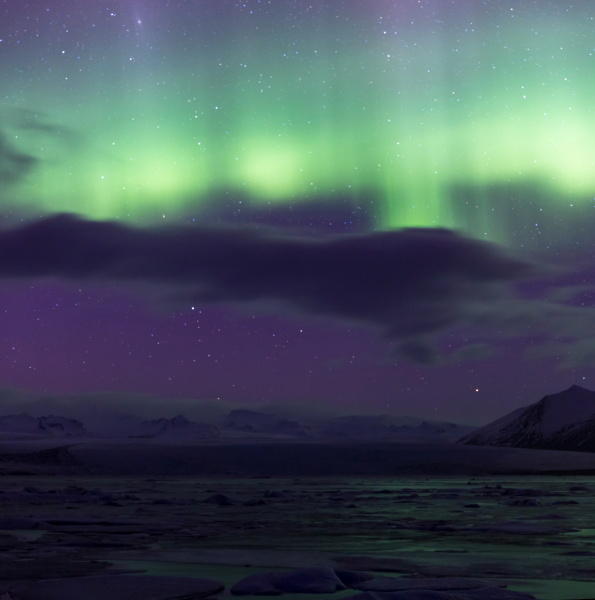 arktis island arktisch aurora nordwind