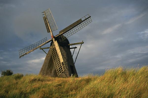 windmuehle am freilichtmuseum skagen nordjuetland daenemark