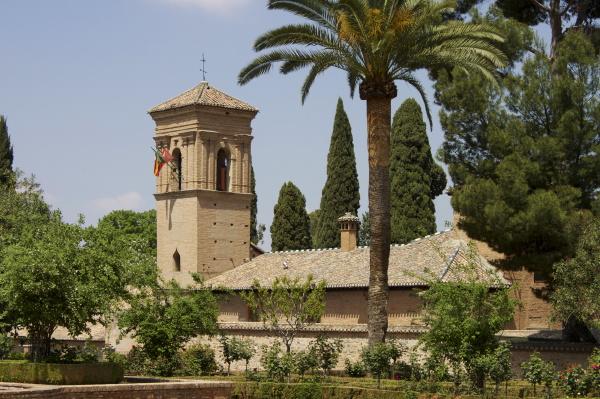 kloster san francisco parador granada andalusien