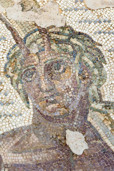 roemisches mosaik karthago nationalmuseum byrsa hill