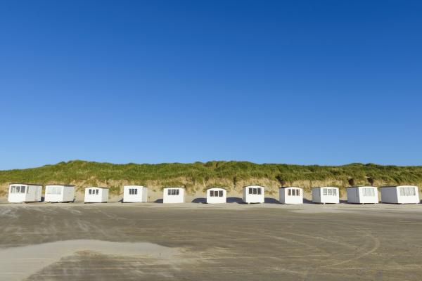 strandhuetten im sommer blokhus jammerbugt municipality