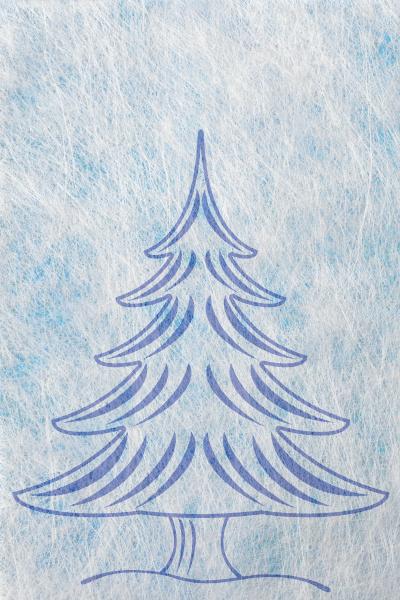 abstrakter weihnachtsbaum und textfreiraum weihnachtskarte