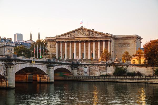 assemblee nationale nationalversammlung in paris frankreich