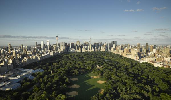 usa new york city luftbild des