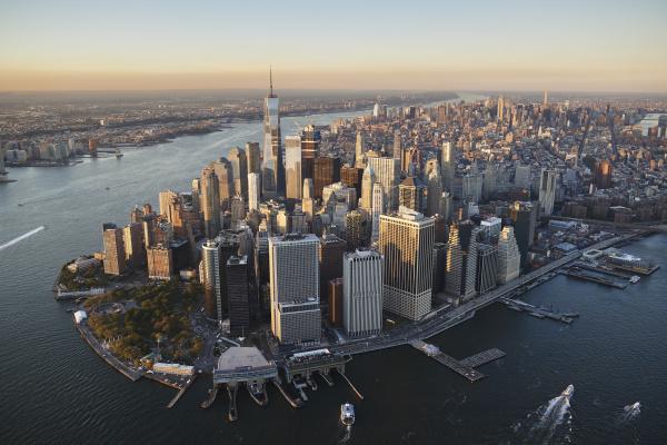 usa new york luftaufnahme von new