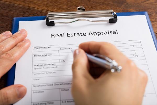 personenhand die real estate appraisal form