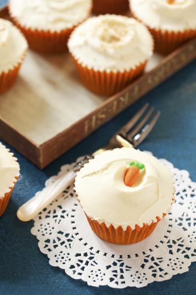 karottenkuchen cupcake