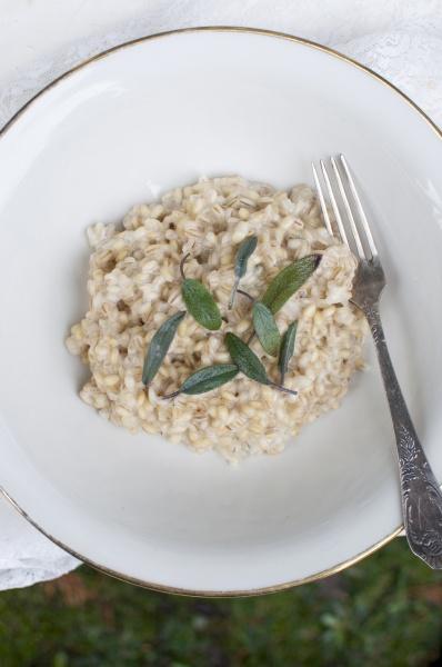 orzotto gerstenrisotto traditionelles italienisches gericht