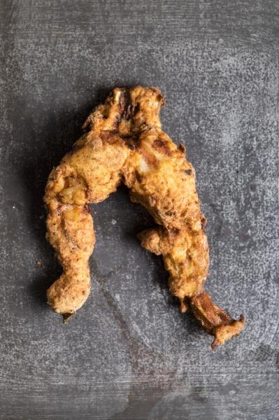 frittierte froschschenkel