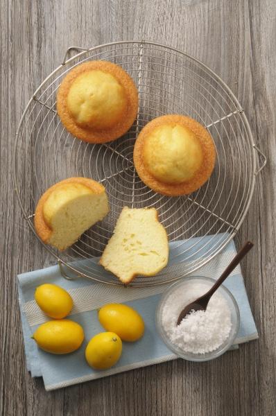 moelleux citron franzoesisch zitronenkuchen mit kokosraspeln