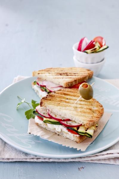 ein veggie sandwich