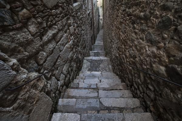 treppe treppen historisch geschichtlich spanien mauer