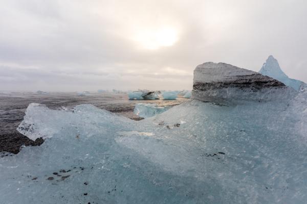eisberg diamant strand island