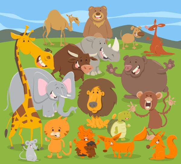 suesse tiercharaktergruppe