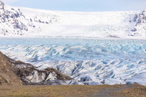 skaftafell gletscher